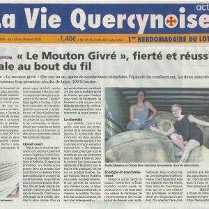 La Vie Quercynoise - 13 au 19 Août 2020